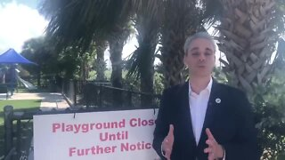 Boca Raton mayor talks about reopening playgrounds