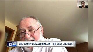 County Executive agrees to reopen news briefings to press at urging of local media outlets