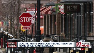 Ricketts: Don't Expect Stay-at-Home Orders in NE