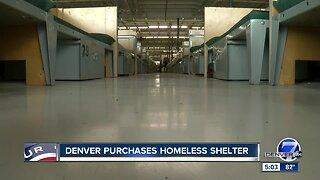 Denver purchases homeless shelter