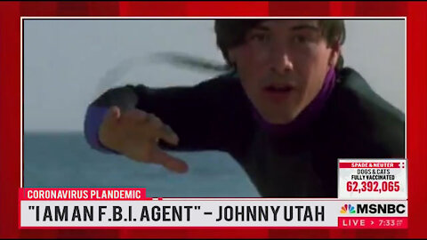 JOHNNY UTAH SURFING FAUCI'S 4TH WAVE