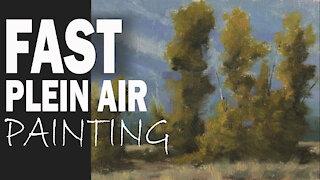 FAST PLEIN AIR PAINTING