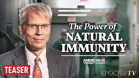 Dr. Martin Kulldorff: Hospitals Should Hire Nurses with Natural Immunity—Not Fire Them | TEASER