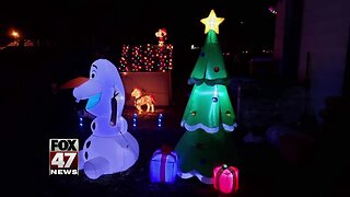 Christmas inflatable stolen from Gratiot County home