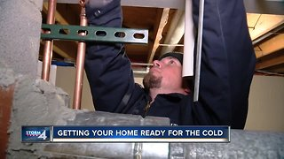 Getting your home ready for the cold