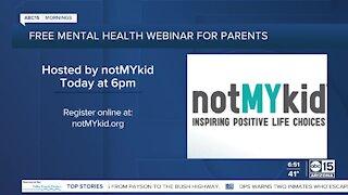 Mental health webinar for parents