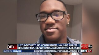 Bakersfield High School student continues to battle homelessness, housing market