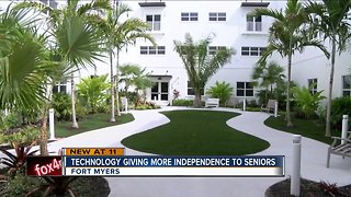 New senior living center uses technology to help residents