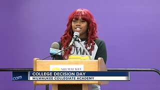 Students announce big news at College Decision Day