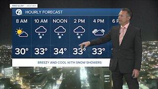 7 First Alert Forecast 5am Update, Thursday, April 1
