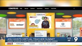 ASU hosts virtual teacher summit