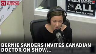 Bernie Sanders Interviews Canadian Doctor About Healthcare