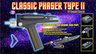Star Trek Phaser Type II Wand Company
