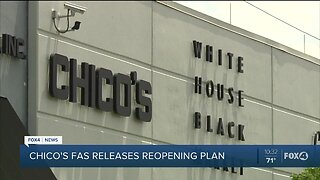 Chicos makes reopen phase announcement