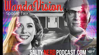 WandaVision S1 Eps 1 & 2 Review - Salty Nerd Podcast