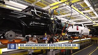 Big announcement expected from GM Wednesday morning