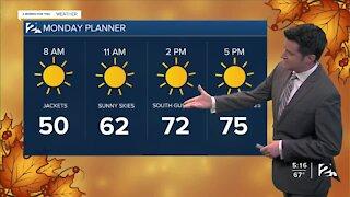 Sunday 5pm Weathercast