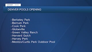 Denver opening park pools & more rec centers