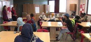 Pilot program helps refugee students in Cleveland