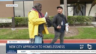 Mayor Todd Gloria supports new city approach to help the homeless