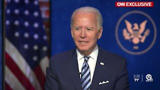 Biden plans to ask America for '100 days to mask' on Inauguration Day