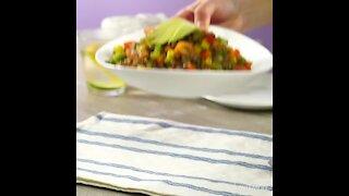 Lentil Warm Salad