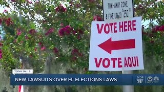 Florida gets another legal challenge to new elections rules