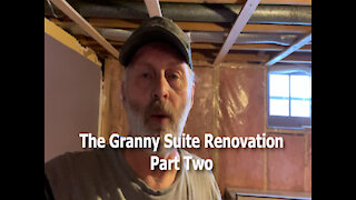 A Granny Suite Renovation Part Two