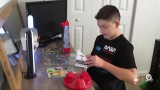 Wellington boy shares personal experience with anxiety to help others