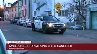 Missing 3-year-old girl found safe, AMBER Alert canceled