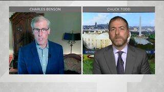 Chuck Todd talks DNC, presidential race with TMJ4