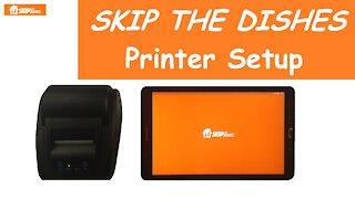 Skip The Dishes Printer Setup