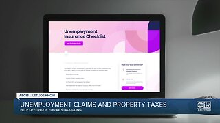 Delaying property taxes and help with unemployment claims