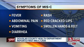 Douglas County Health Department reports first MIS-C case
