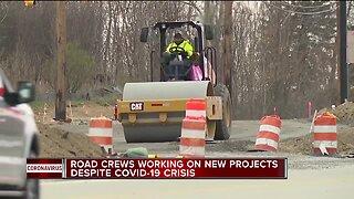 Construction season starts in Michigan, despite COVID-19 crisis