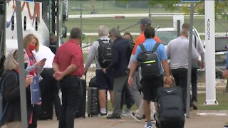 European Ryder Cup team arrives in Wisconsin: 'Exactly how you would want it'