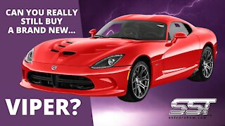 Dodge Still Selling New Vipers