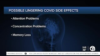 Potential lingering side effects of COVID-19