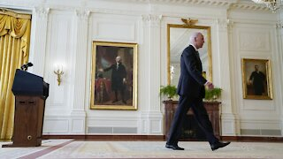 President Biden Says He Stands 'Squarely Behind' Afghanistan Decision