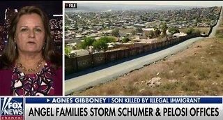 Angel moms storm Nancy Pelosi's office to demand border wall