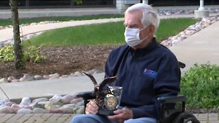 Racine man receives lifetime achievement award from the Department of Defense