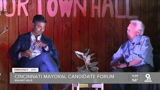 Mayoral town hall held two weeks before election day