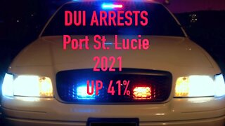 DUI arrests up 41% in Port St. Lucie this year
