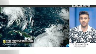 A tropical round-up across the Atlantic, three disturbances and counting