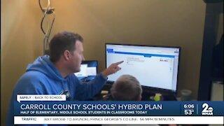Carroll County Schools hybrid plan