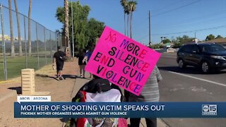 """""""I never thought it could be my family"""": Mom organizes march against gun violence"""