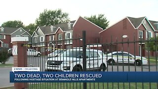 Two people dead and two children rescued from hostage situation