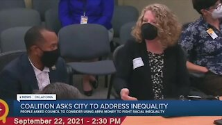 Coalition asks city for portion of ARPA funding to fight 'racial inequity'
