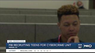 FBI recruiting teens for cybercrime unit