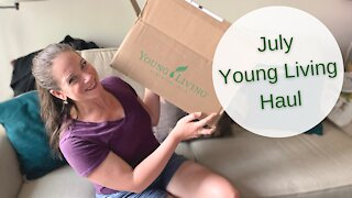 July 2021 Young Living Unboxing